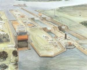 Amp. Canal Panamá Boceto 300x242 Ampliación del Canal de Panamá