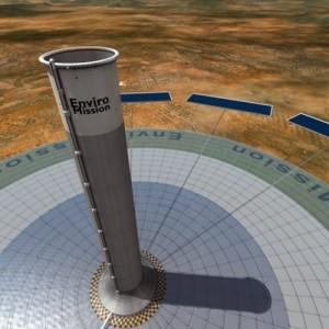 enviromission solar tower 300x300 Cómo funciona: Torre solar