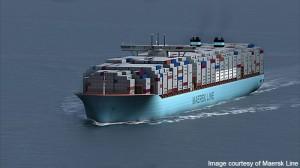 Maersk 300x168 Triple E: El buque portacontenedores más grande del mundo