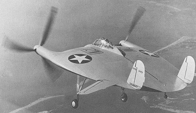 vought v-173 aeronaves extrañas