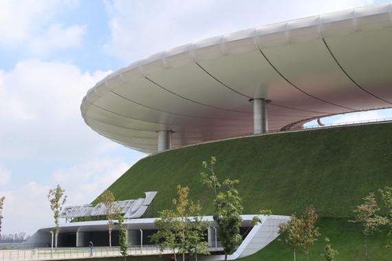 Cubierta vegetal de un edificio